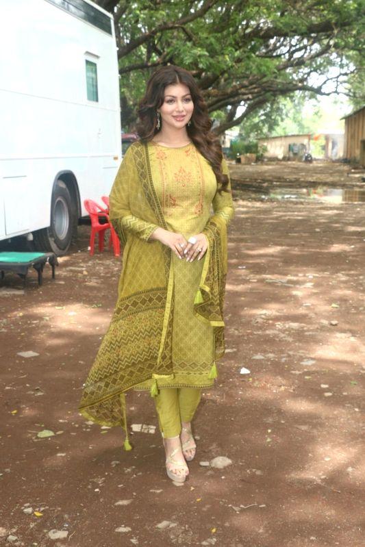 Actress Ayesha Takia during a photo shoot in Goregaon, Maharashtra on June 13, 2018. - Ayesha Takia