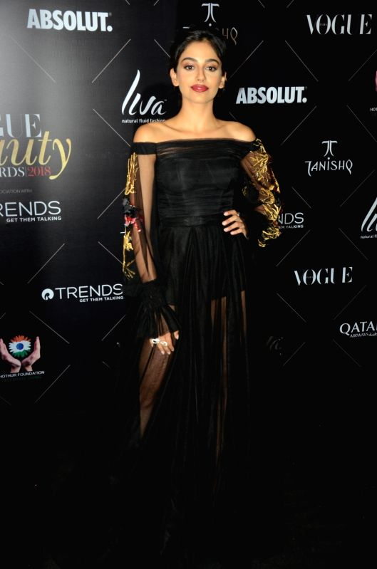 "Actress Banita Sandhu at the red carpet of ""Vogue Beauty Awards"" in Mumbai on July 31, 2018. - Banita Sandhu"