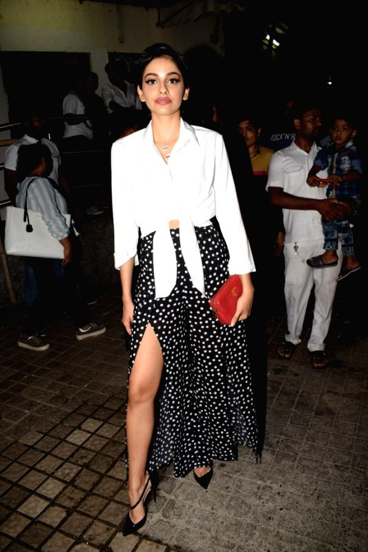 "Actress Banita Sandhu at the special screening of her film ""October"" in Mumbai on April 12, 2018. - Banita Sandhu"