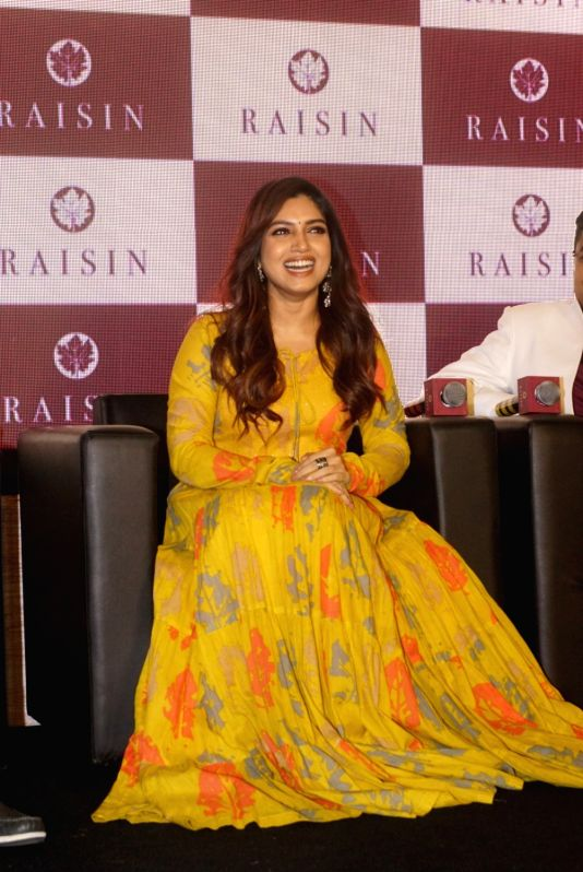 Actress Bhumi Pednekar at the launch of a clothing brand in Mumbai on Aug 13, 2018. - Bhumi Pednekar