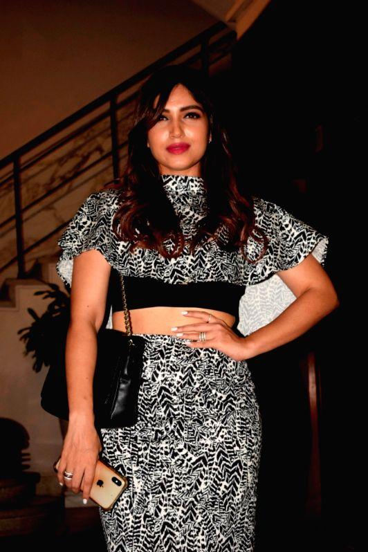 "Actress Bhumi Pednekar at the pre-release party of upcoming film ""Karwaan"" in Mumbai on July 26, 2018. - Bhumi Pednekar"