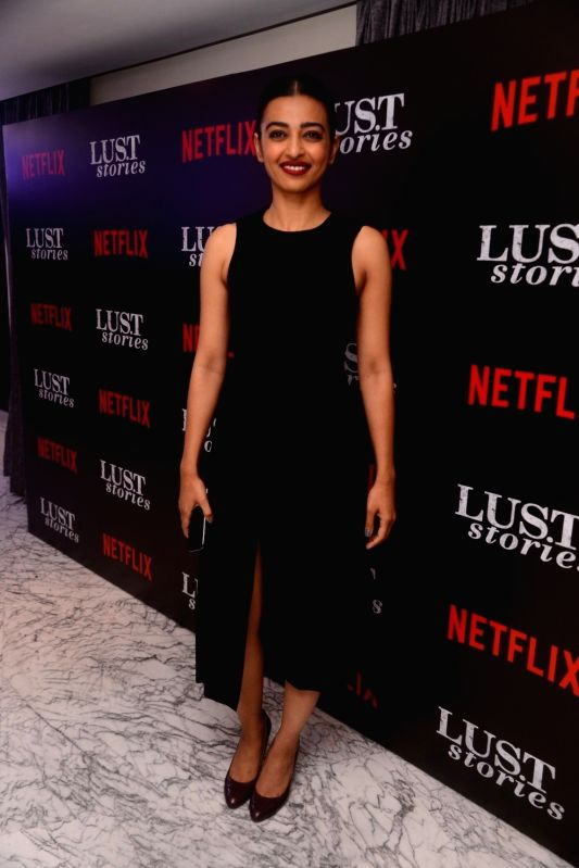 "Actress Bhumi Pednekar at the special screening of Netflix show titled ""Lust Stories"" in Mumbai on June 13, 2018. - Bhumi Pednekar"