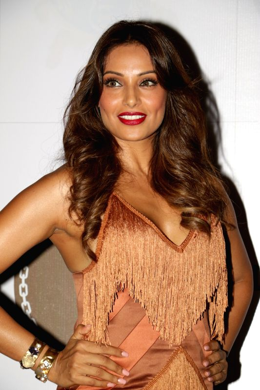 Actress Bipasha Basu during 24K Gold Party in Mumbai, on Aug 13, 2015. - Bipasha Basu