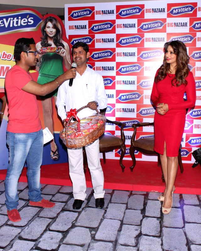 Actress Bipasha Basu during a programme organised in Gurgaon.