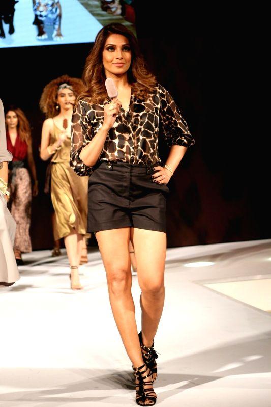 Actress Bipasha Basu during an event in Mumbai on May 2, 2017. - Bipasha Basu