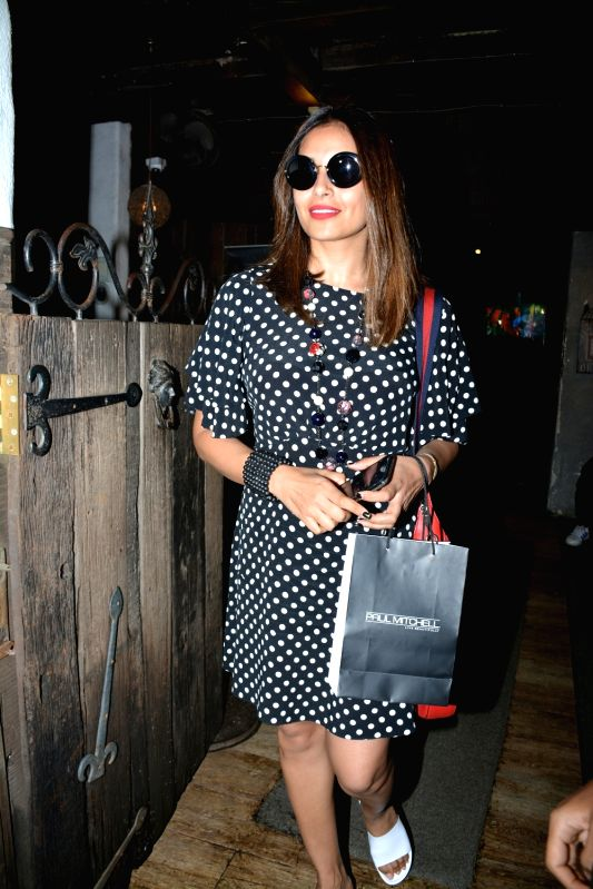 Actress Bipasha Basu seen at Mumbai's Bandra on July 11, 2018. - Bipasha Basu