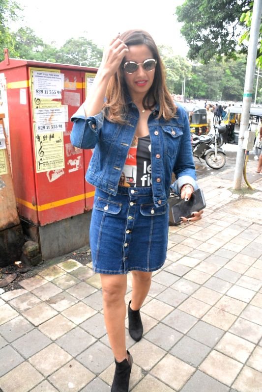 Actress Bipasha Basu seen at Mumbai's Bandra on Aug 4, 2018. - Bipasha Basu
