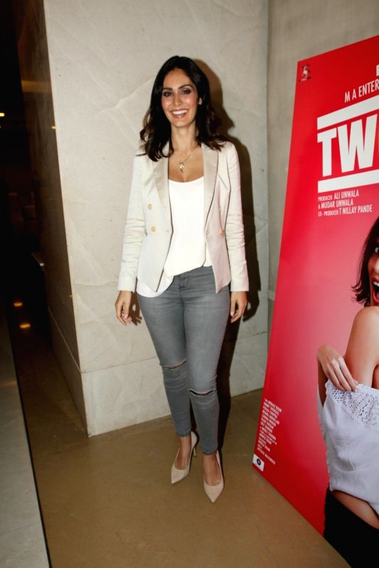 Actress Bruna Abdullah during the music launch of film Yea Toh Two Much Ho Gayaa in Mumbai, on August 6, 2016. - Bruna Abdullah