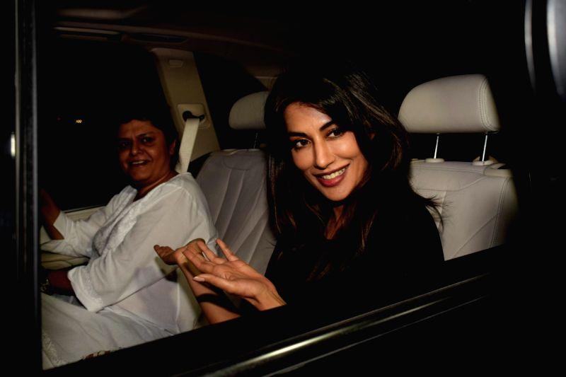 "Actress Chitrangada Singh  at the special screening of upcoming film ""Soorma"" in Mumbai on July 11, 2018. - Chitrangada Singh"