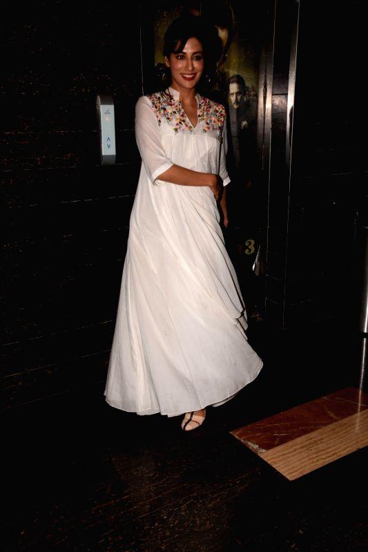 "Actress Chitrangada Singh at the special screening of her film ""Saheb Biwi Aur Gangster 3"" in Mumbai on July 26, 2018. - Chitrangada Singh"