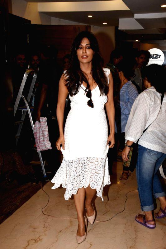"""Actress Chitrangada Singh during promotional song shoot of upcoming film """"Saheb, Biwi Aur Gangster 3"""" in Mumbai on July 16, 2018. - Chitrangada Singh"""
