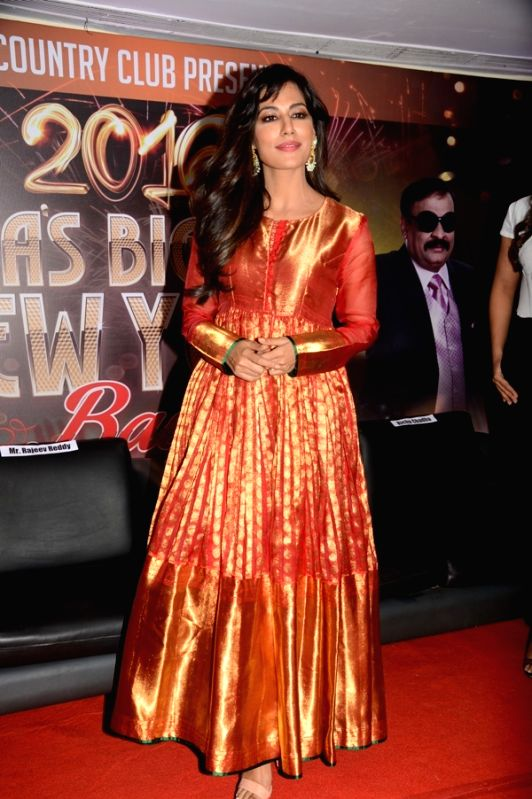 Actress Chitrangada Singh during the announcement of Country Club's New Year celebrations in Mumbai on Oct 28, 2015. - Chitrangada Singh