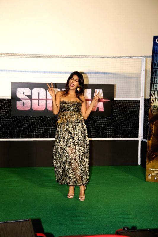 "Actress Chitrangda Singh at the trailer launch of upcoming film ""Soorma"" in Mumbai on June 11, 2018. - Chitrangda Singh"