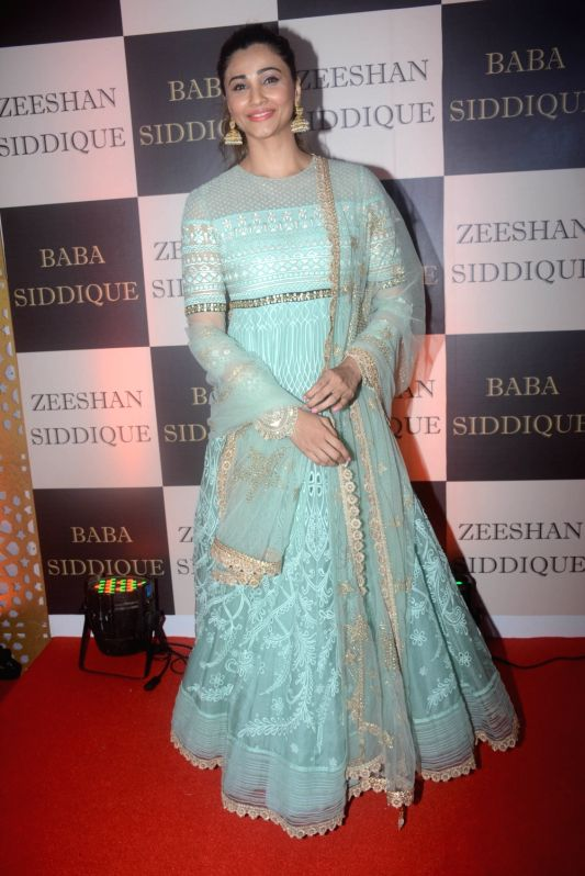 Actress Daisy Shah at politician Baba Siddique's iftar party in Mumbai on June 10, 2018. - Daisy Shah