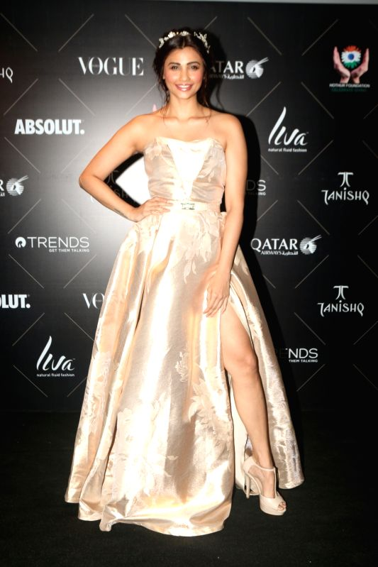 "Actress Daisy Shah at the red carpet of ""Vogue Beauty Awards"" in Mumbai on July 31, 2018. - Daisy Shah"