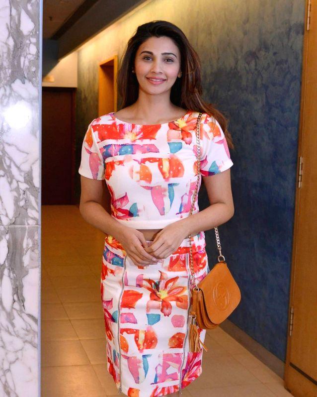 Actress Daisy Shah during the screening of film Dishoom in Mumbai, on July 28, 2016. - Daisy Shah