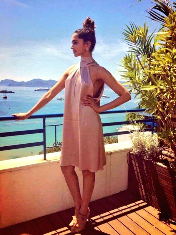 Actress Deepika Padukone at Cannes in France on May 17, 2017. - Deepika Padukone
