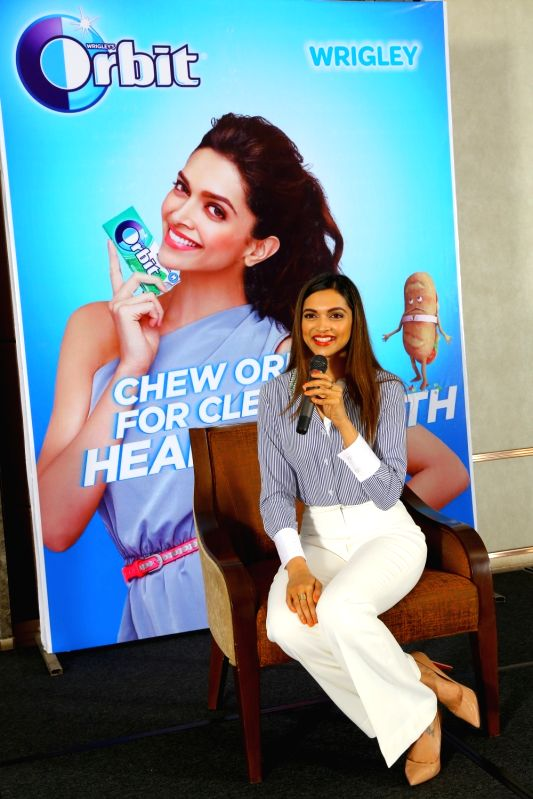 Actress Deepika Padukone during a programme in Bengaluru on Aug 10, 2016. - Deepika Padukone
