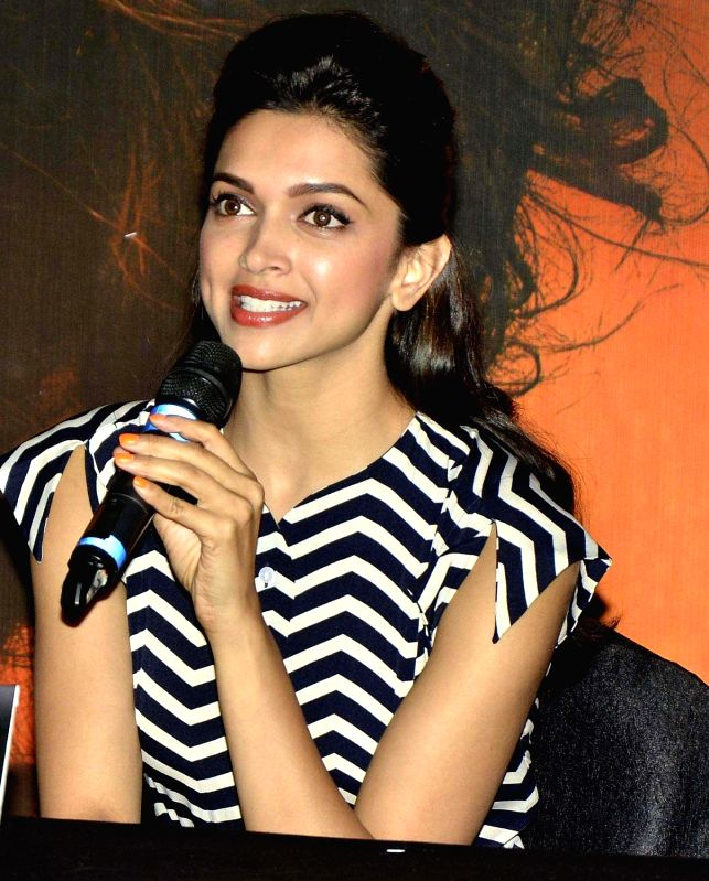 Actress Deepika Padukone during the inauguration of India's first megaplex from Cinepolis at Seasons Mall in Pune on November 15, 2013.