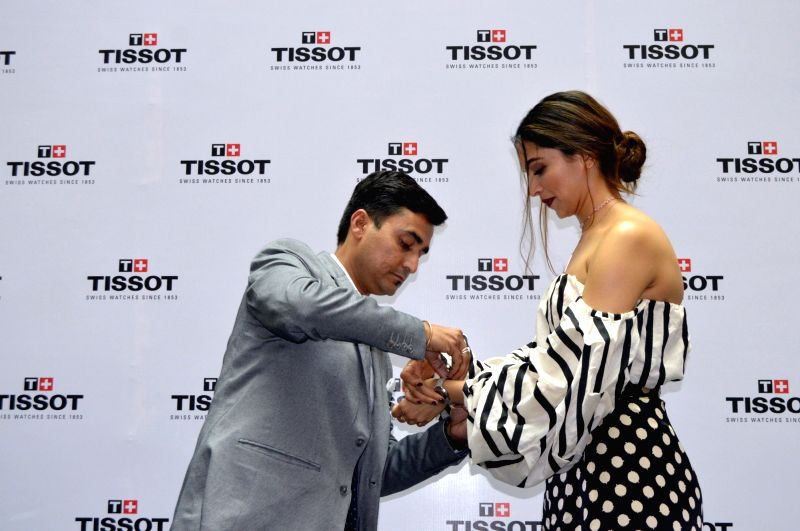 Actress Deepika Padukone during the launch of a product in Hyderabad on Aug 4, 2016. - Deepika Padukone