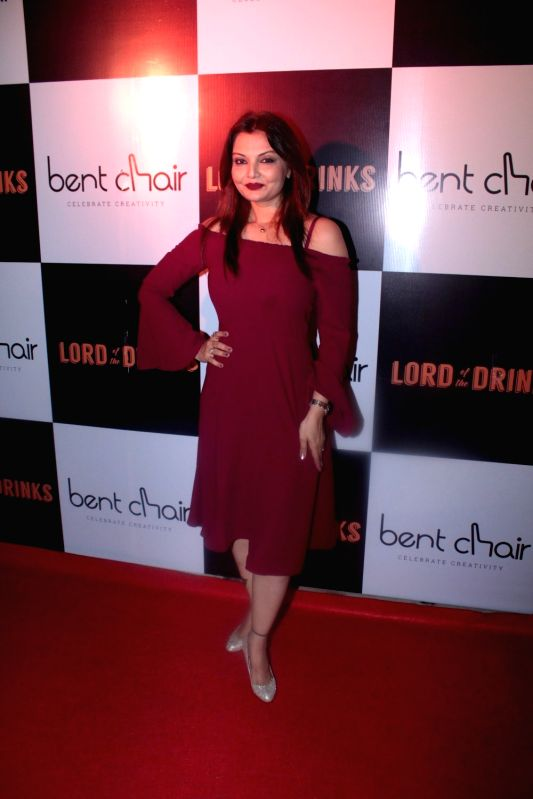 Actress Deepshikha Nagpal during the launch of Resto-bar, Lord of the Drinks in Mumbai on April 28, 2017. - Deepshikha Nagpal
