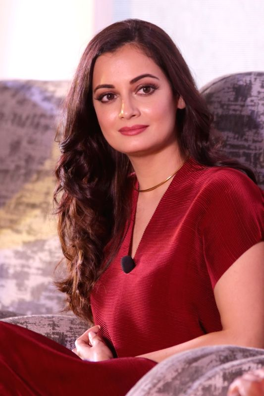 "Actress Dia Mirza at the launch of coffee-table book ""BAZAAR AT WORK - The Power List"" in New Delhi, on May 18, 2018. - Dia Mirza"