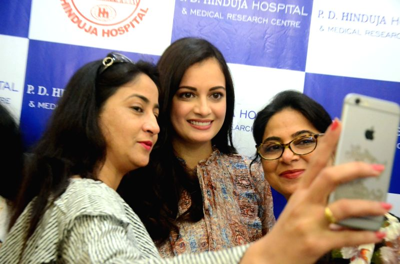 Actress Dia Mirza during 12th Annual Organ Donor Felicitation in Mumbai, on Jan 28, 2018. - Dia Mirza