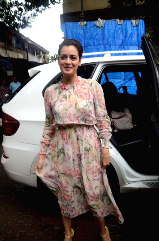 Actress Dia Mirza during a programme in Mumbai on July 21, 2016. - Dia Mirza