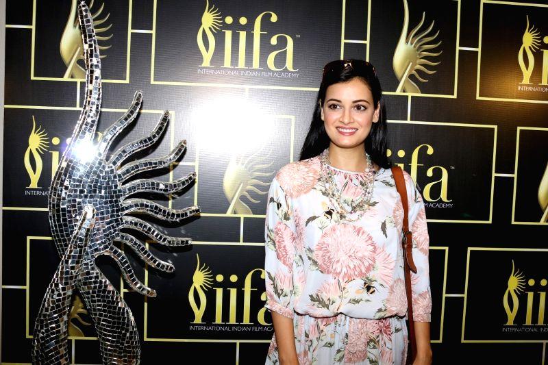 Actress Dia Mirza during the International Indian Film Academy Awards (IIFA) Voting Weekend in Mumbai on April 16, 2017. - Dia Mirza