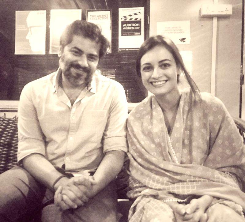 Actress Dia Mirza with director Atul Mongia.