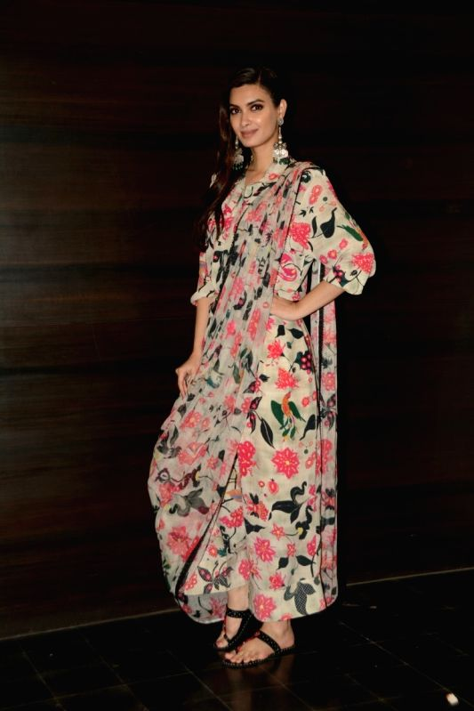 "Actress Diana Penty at the promotion of her upcoming film ""Happy Phirr Bhag Jayegi"" in Mumbai on Aug 9, 2018. - Diana Penty"