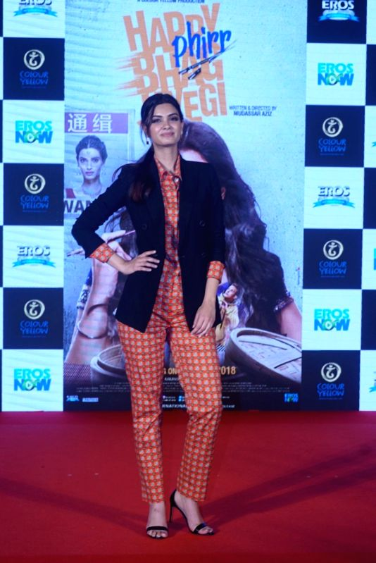 "Actress Diana Penty at the trailer launch of her upcoming film ""Happy Phirr Bhag Jayegi""  in Mumbai on July 25, 2018. - Diana Penty"