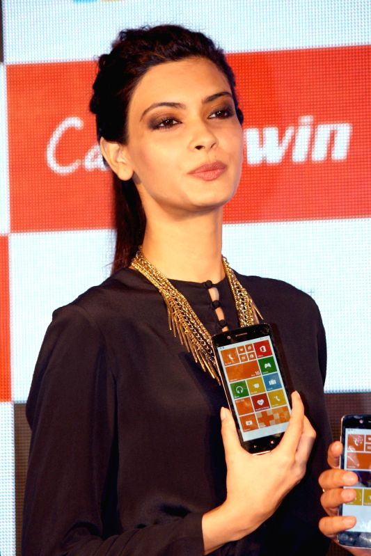 Actress Diana Penty during the launch of Micromax`s new Canvas in New Delhi on 16 June 2014. - Diana Penty