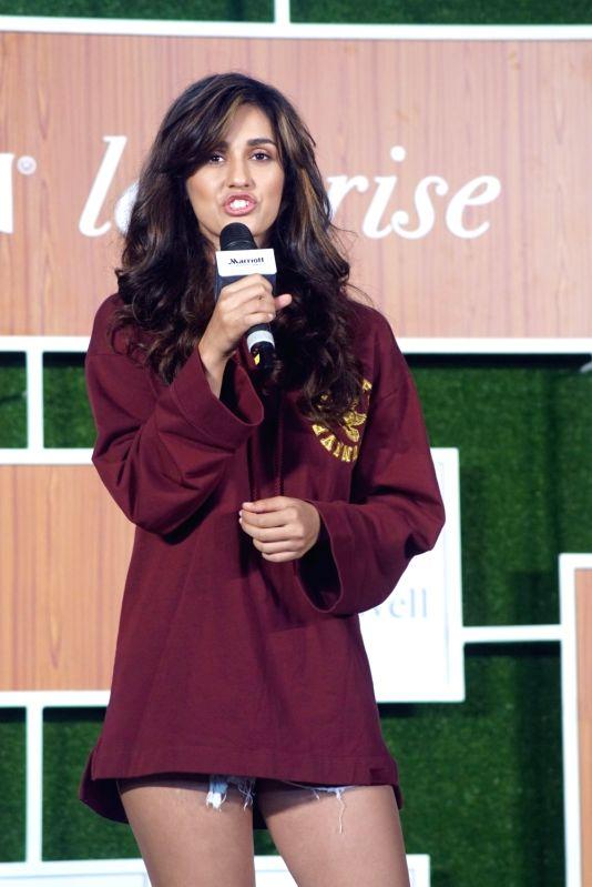 Actress Disha Patani during a programme in Mumbai, on June 11, 2018. - Disha Patani