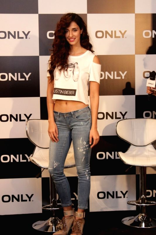 Actress Disha Patani during the launch of The Only For Bieber Collection in Mumbai on April 20, 2017. - Disha Patani