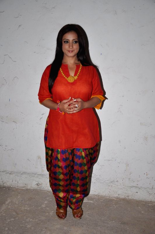 Actress Divya Dutta at the Screening of film Manjunath in Mumbai on 6th May 2014. - Divya Dutta