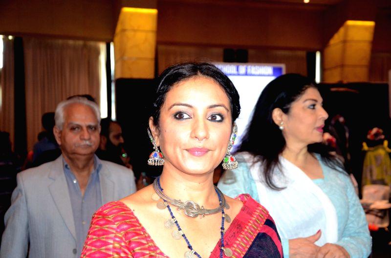 "Actress Divya Dutta during  'The Edutainment Show"" conclave in Mumbai, onMay 19, 2017. - Divya Dutta"