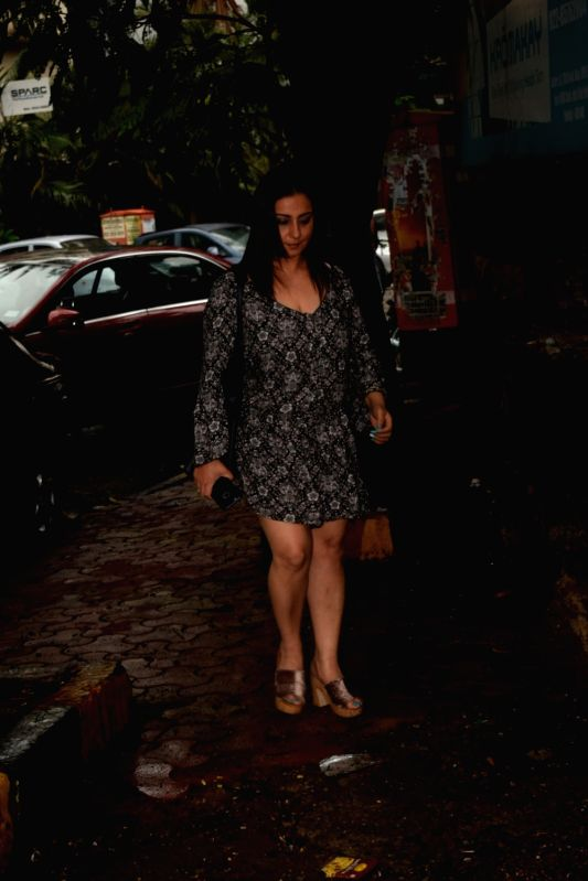 Actress Divya Dutta seen in Mumbai's Juhu on June 7, 2018. - Divya Dutta