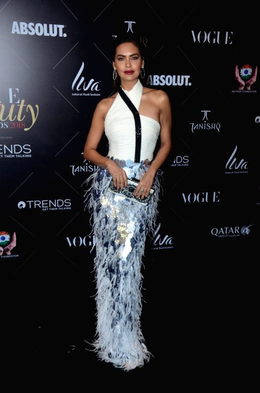 "Actress Esha Gupta at the red carpet of ""Vogue Beauty Awards"" in Mumbai on July 31, 2018. - Esha Gupta"