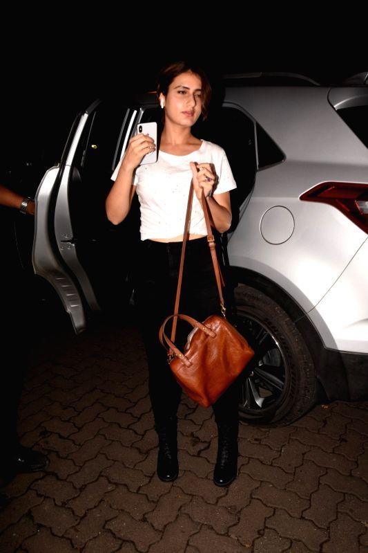 Actress Fatima Sana Shaikh at the producer Dinesh Vijan birthday celebration in Mumbai on July 26, 2018. - Fatima Sana Shaikh