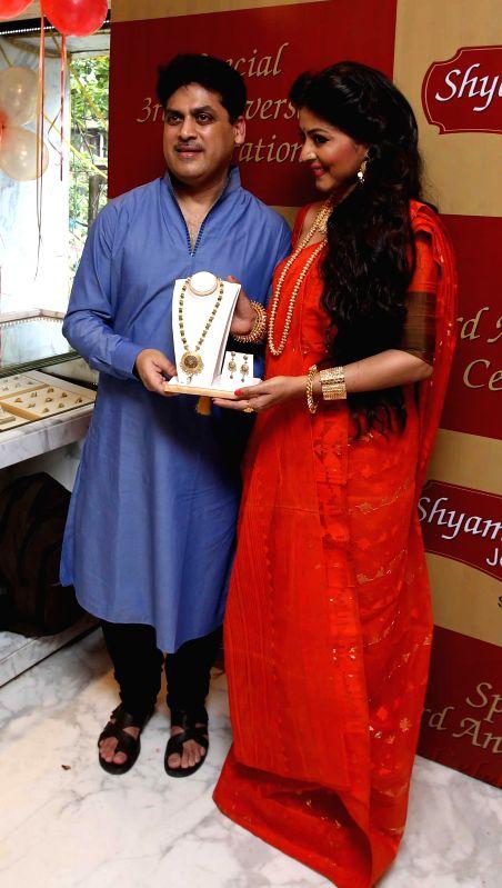 Actress Gargi Roy Chowdhury during a programme in Kolkata on Aug 12, 2014.