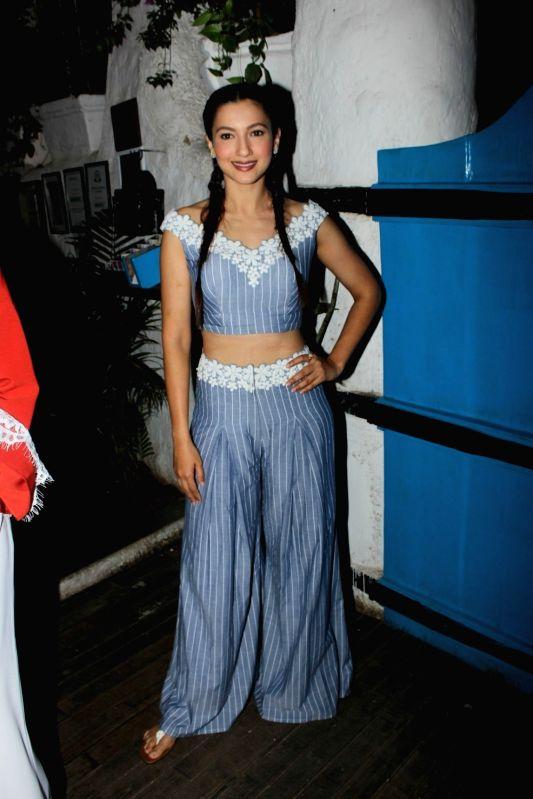 Actress  Gauhar Khan during the launch of fashion designer Mayyur Girotra`s exclusive pret line White Elephant in Mumbai, on May 30, 2017. - Gauhar Khan