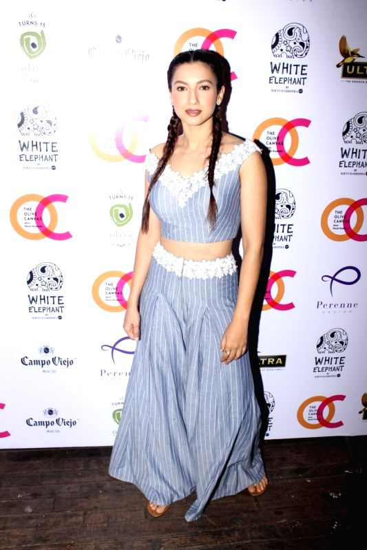 Actress  Gauhar Khan during the launch of fashion designer Mayyur Girotra`s exclusive pret line White Elephant in Mumbai, on May 30, 2017. - Gauhar Khan