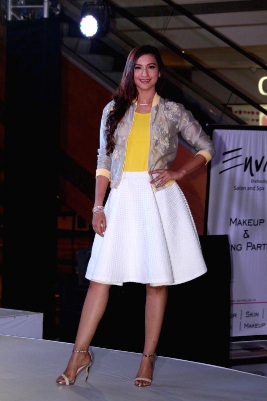 Actress Gauhar Khan spotted at a fashion show in Mumbai on May 7, 2017. - Gauhar Khan