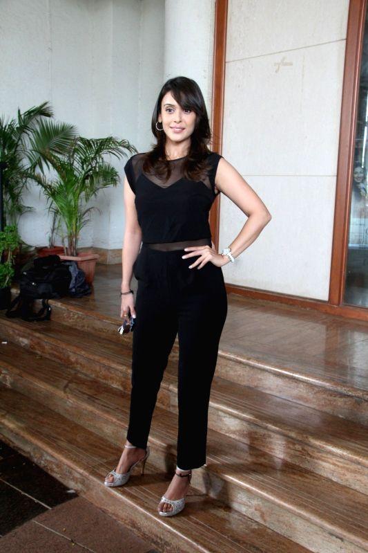 Actress Hrishitaa Bhatt during the music launch of film Chehere in Mumbai, on July 31, 2015. - Hrishitaa Bhatt