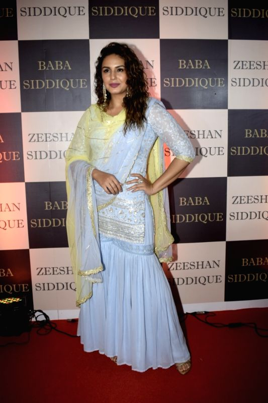 Actress Huma Qureshi at politician Baba Siddique's iftar party in Mumbai on June 10, 2018.