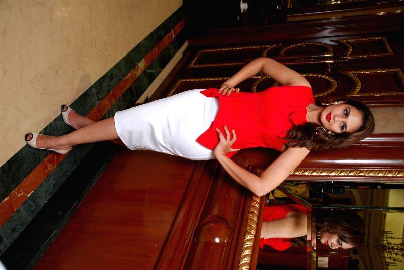 Actress Huma Qureshi at the launch of new Femina issue `My Body My Rules` at Hotel ITC Parel in Mumbai on July 9, 2014. - Huma Qureshi