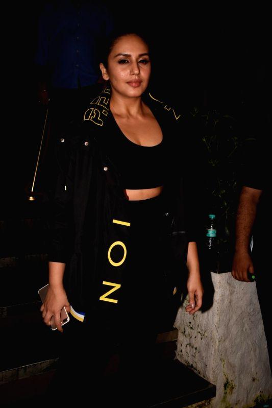 Actress Huma Qureshi at the producer Dinesh Vijan birthday celebration in Mumbai on July 26, 2018. - Huma Qureshi