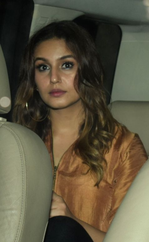 "Actress Huma Qureshi at the special screening of film ""October"" in Mumbai on April 12, 2018. - Huma Qureshi"