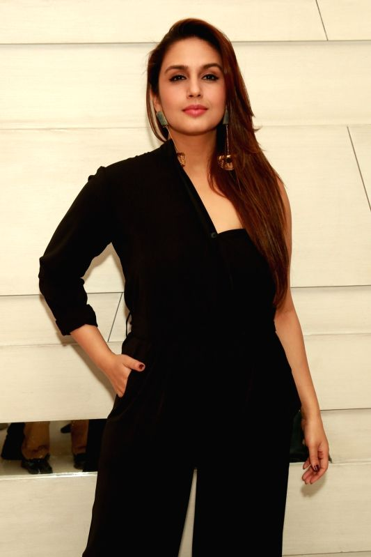 "Actress Huma Qureshi during a press conference to promote her upcoming film ""Dobaara"" in New Delhi, on May 22, 2017. - Huma Qureshi"